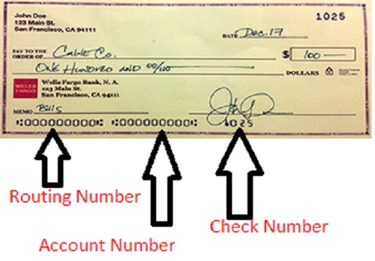 Wells Fargo Routing Number - fasrgames